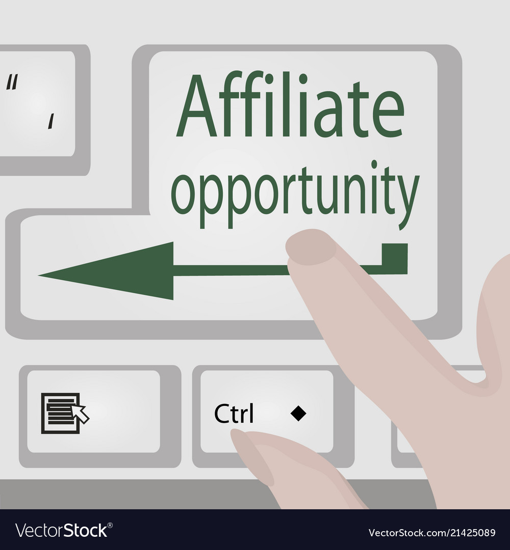 Affiliate opportunity button business motivation