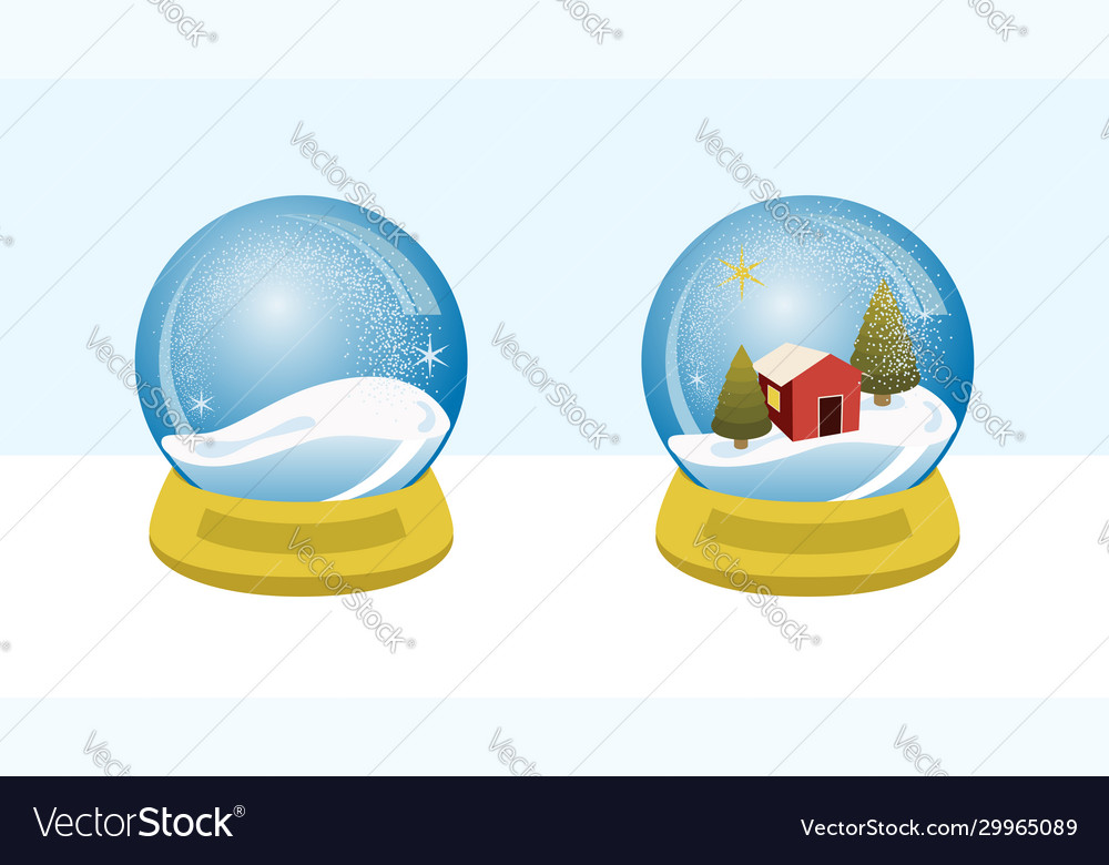 Snow globe villa