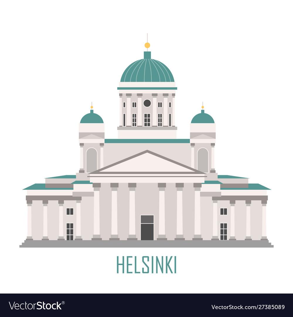 Symbol helsinki finland - cathedral
