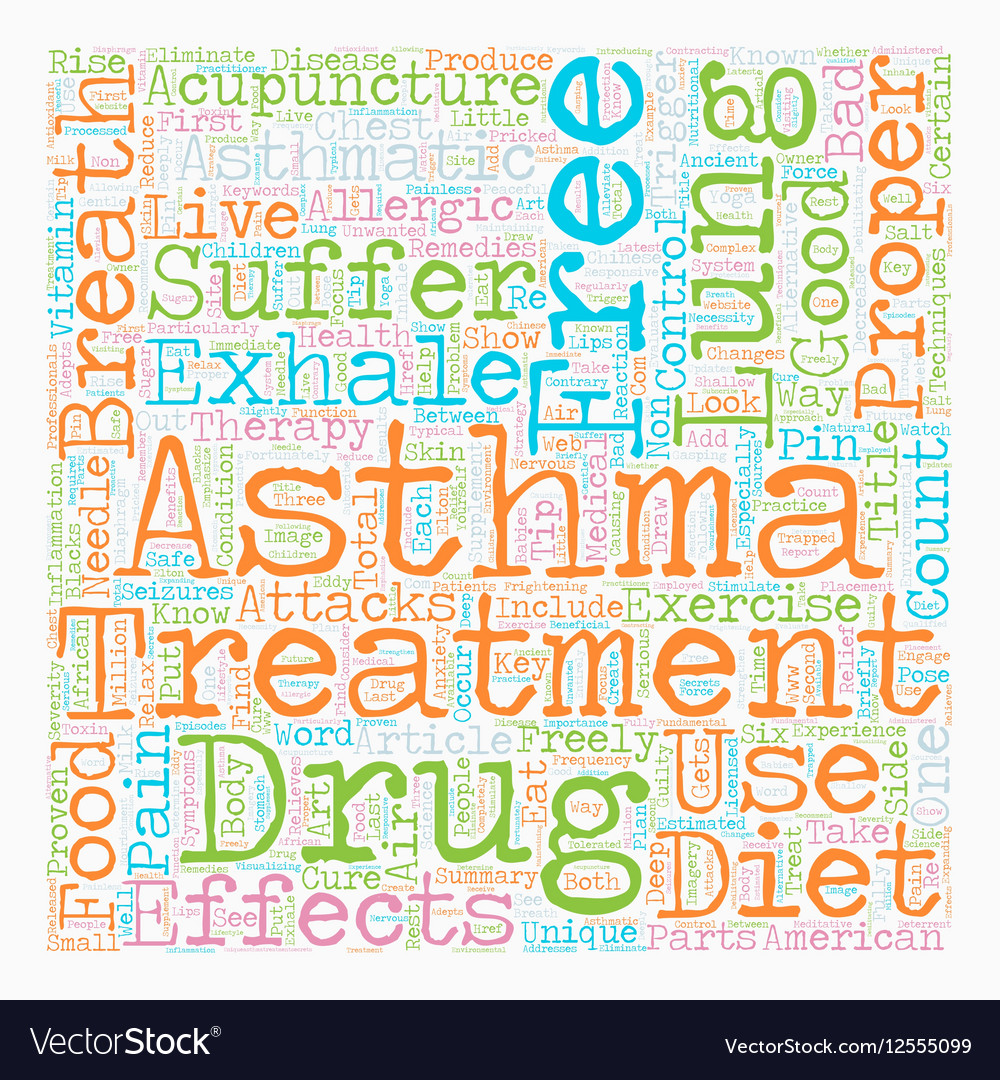 How Asthma Sufferers Can Live Drug Free and