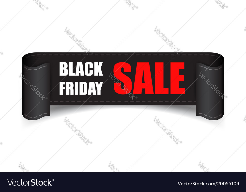 Black friday sales tag discount sticker clothes