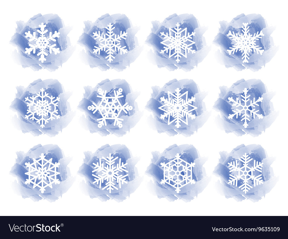 Winter backgrounds with snowflake