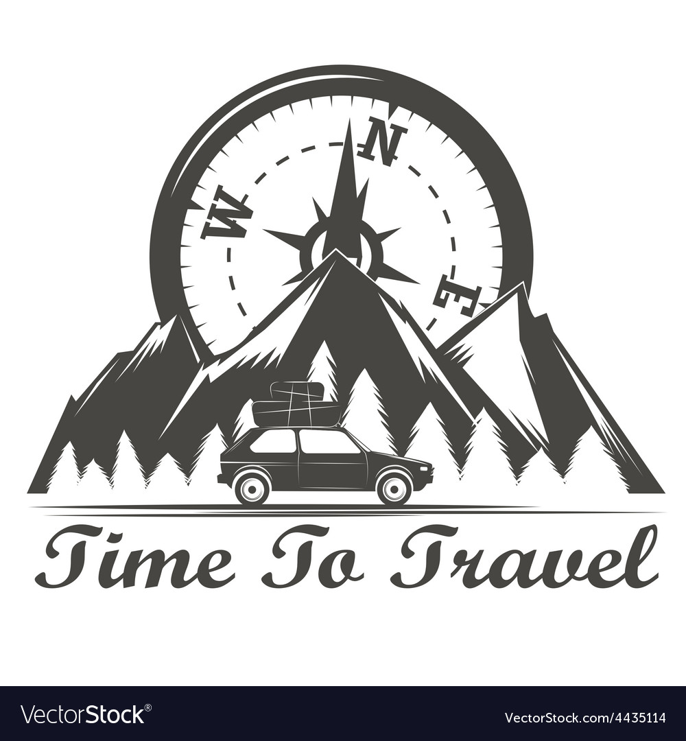 Wilderness travel emblem