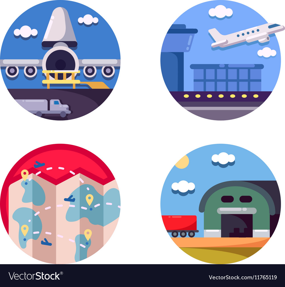 Air logistics and freight transport