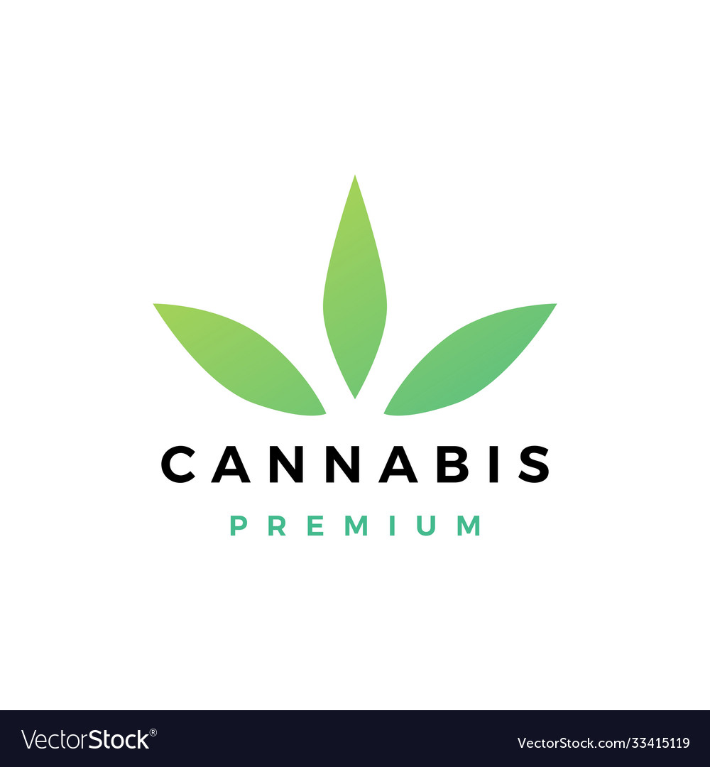 Cannabis logo icon