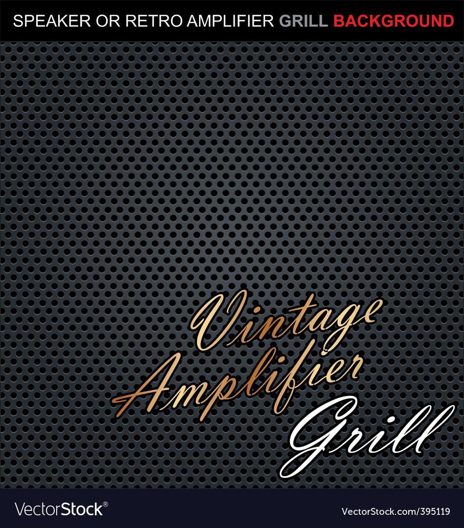 Speaker grill background