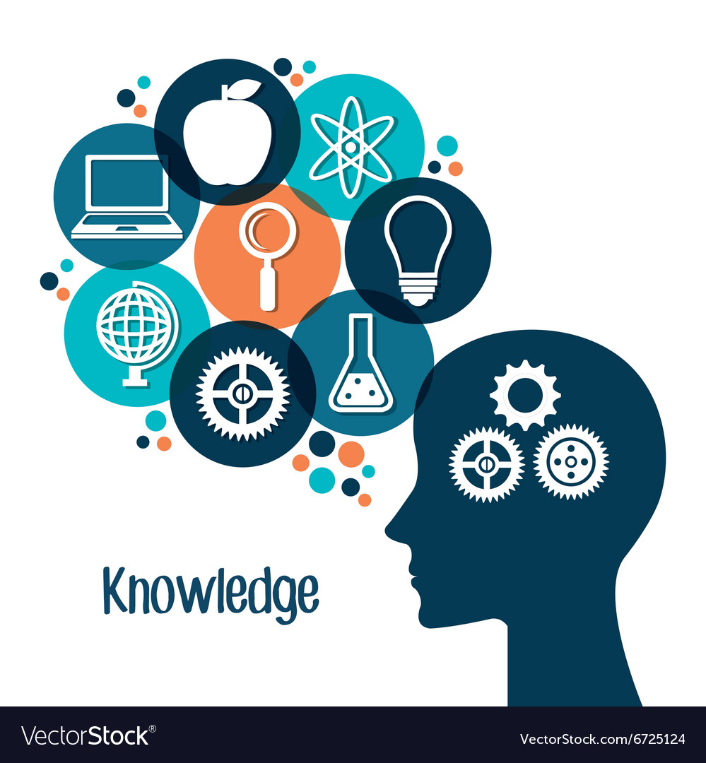 Education and knowledge Royalty Free Vector Image
