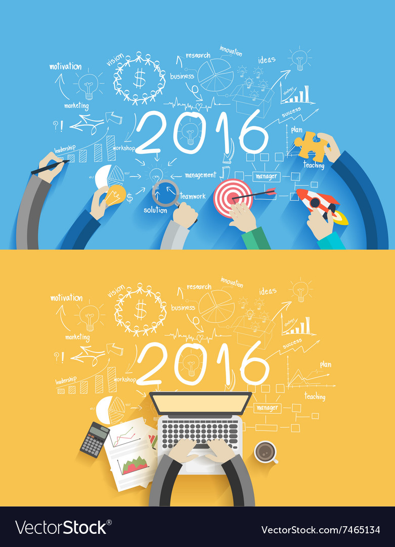 2016 new year business success