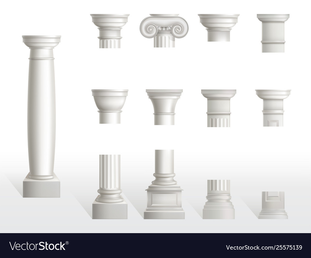 Parts Of A Column >> Parts Ancient Column Base Shaft And Capital