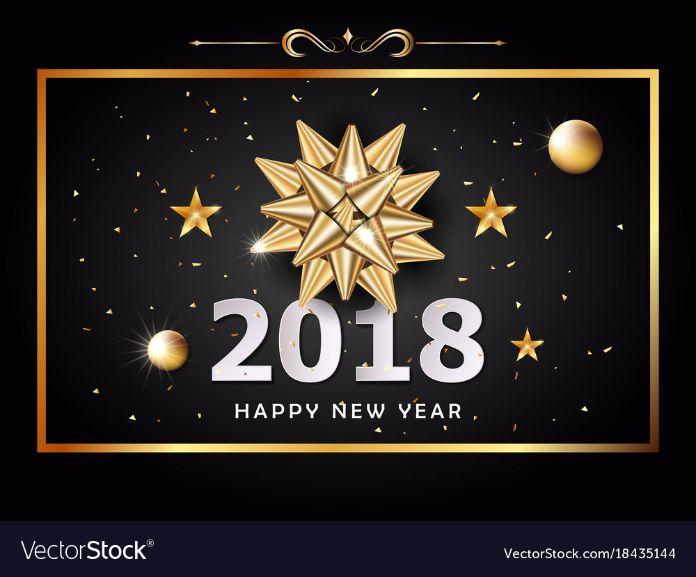 Happy new year background and celebration