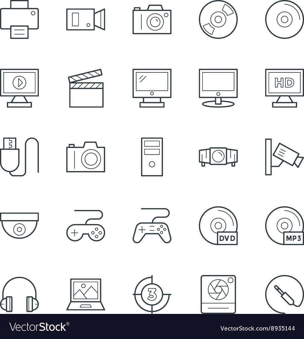 Multimedia Cool Icons 1