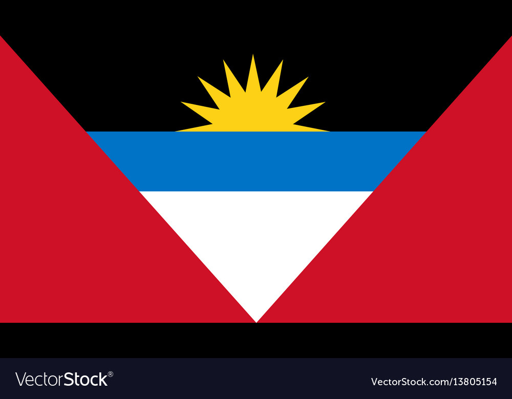 Antigua and barbuda flag for independence day and