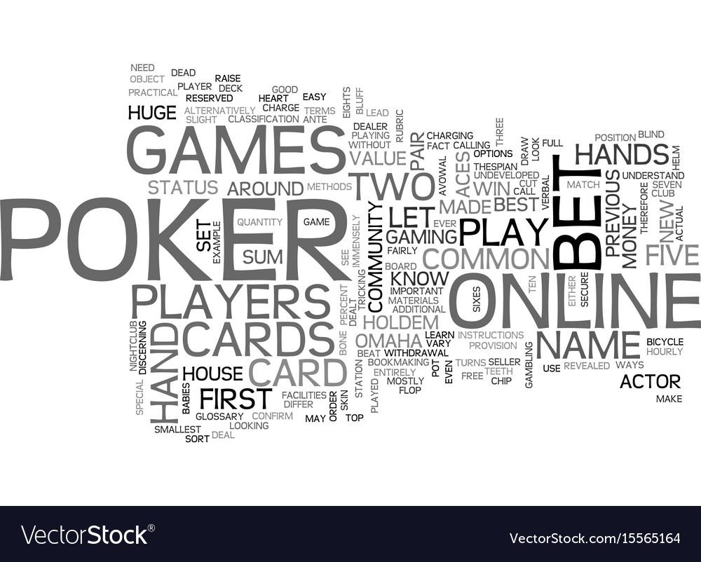 Blackjack idioms