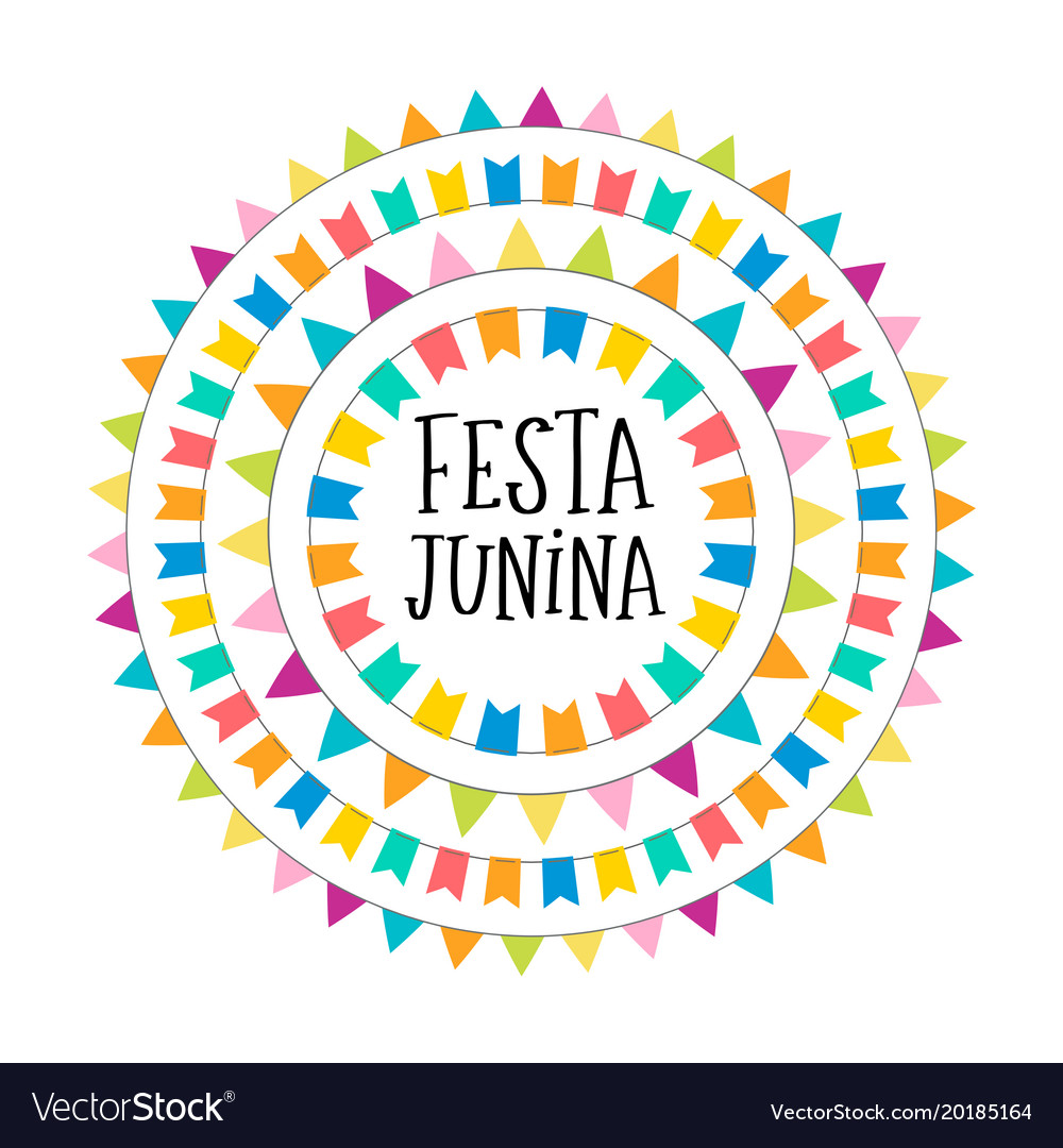 Brazilian june festival poster
