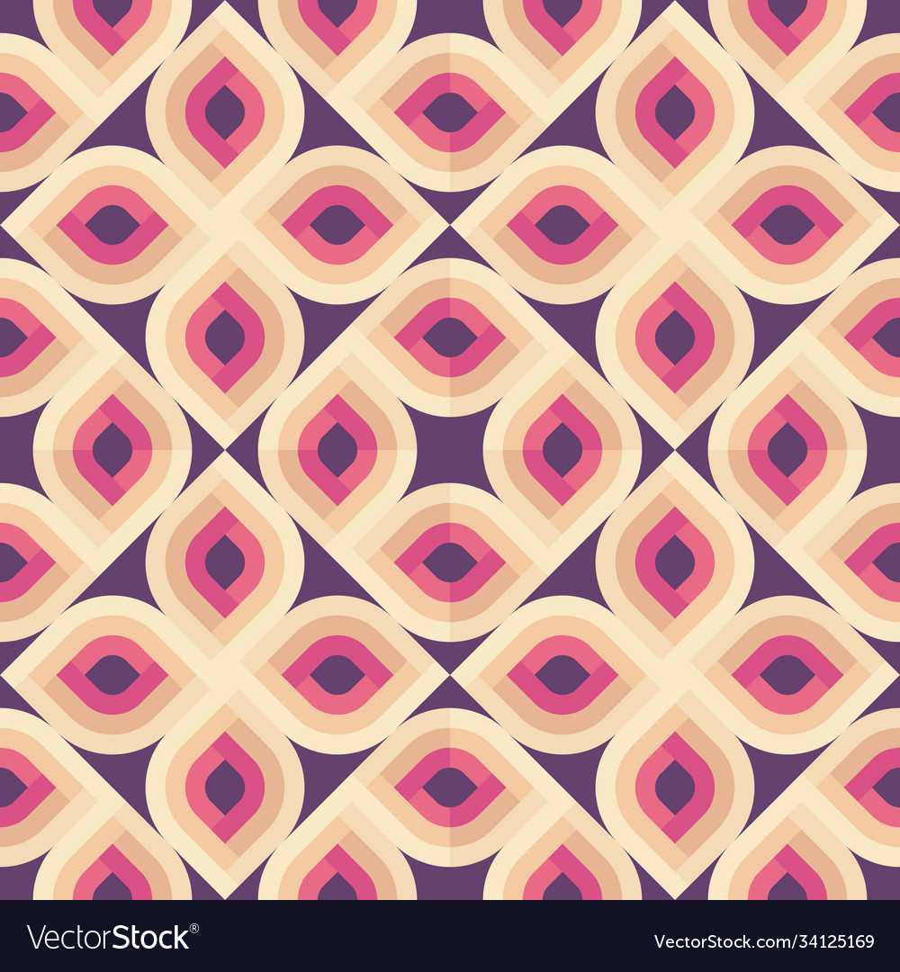 Abstract geometric background seamless pattern