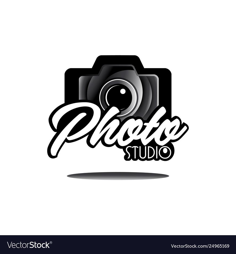 Camera photography studio logo logotype design