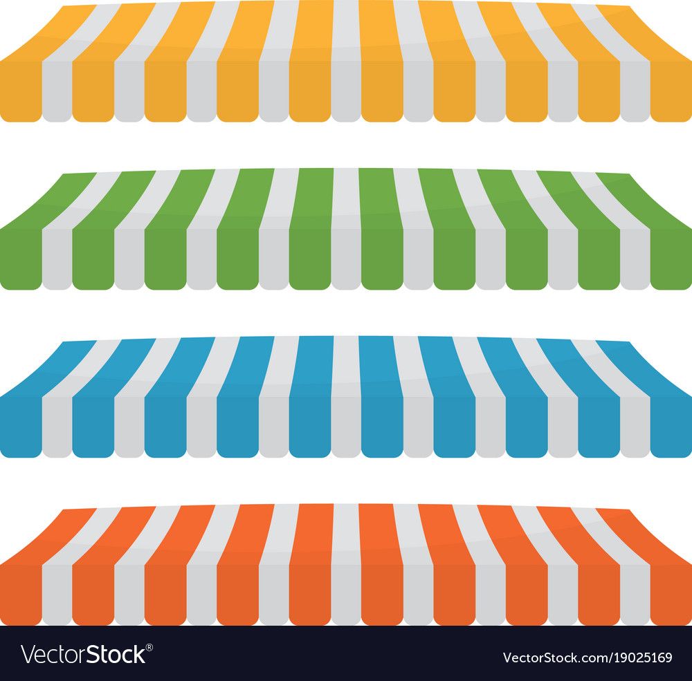 Set on line store vector image