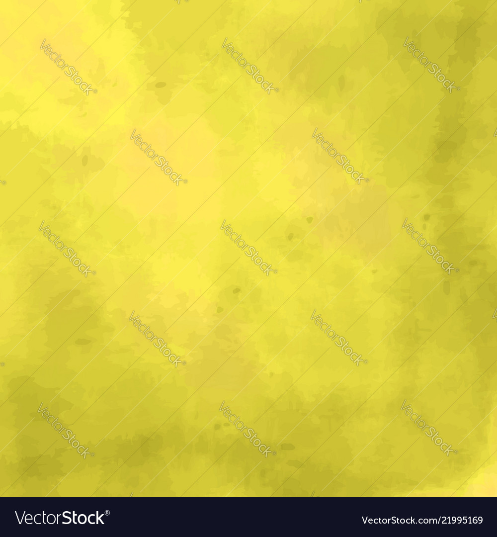 Yellow background with a watercolor texture