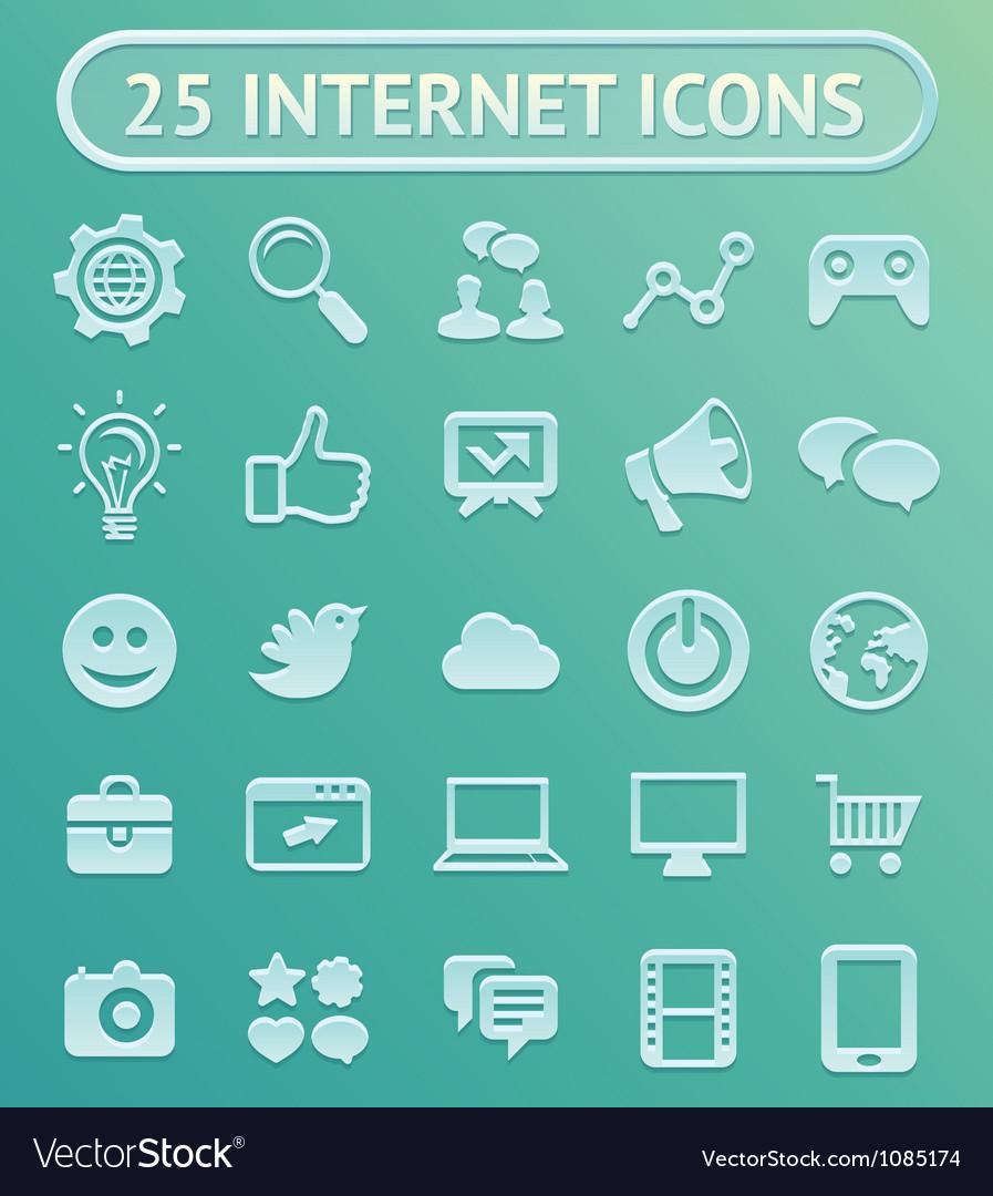 25 internet icons