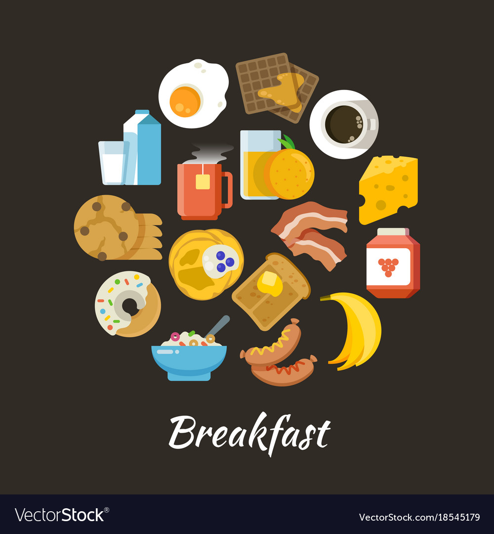 Breakfast concept fresh and healthy food