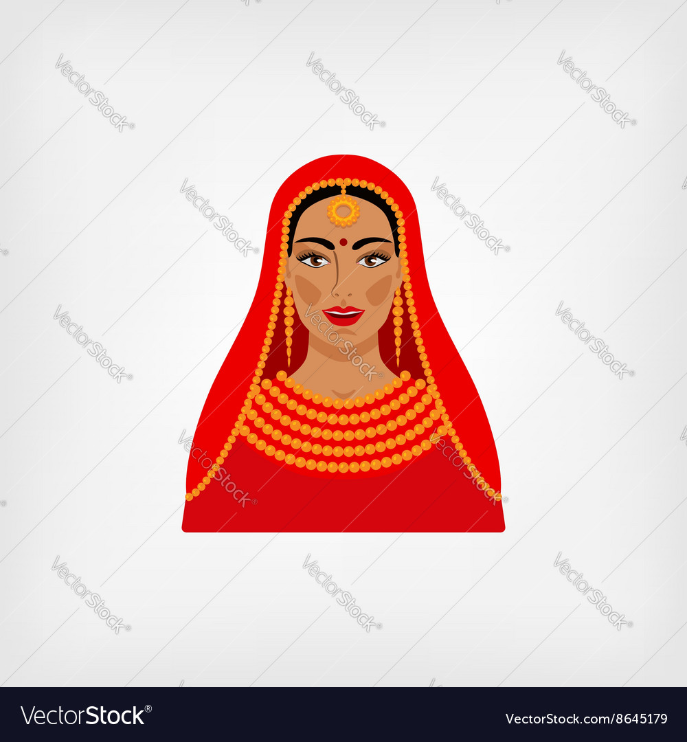 Indian woman in traditional clothes