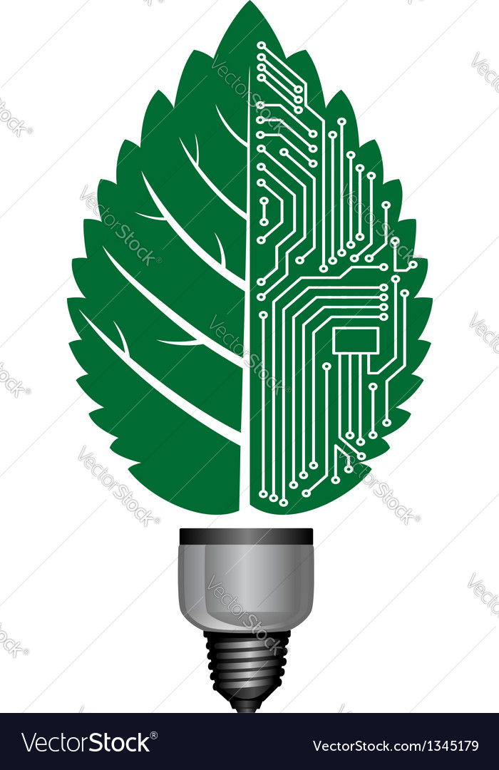 Light bulb with computer elements