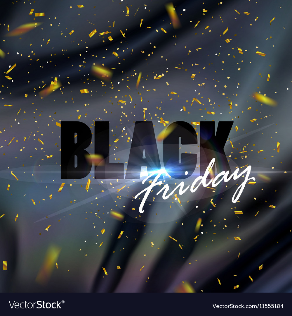 Black Friday sale banner design template