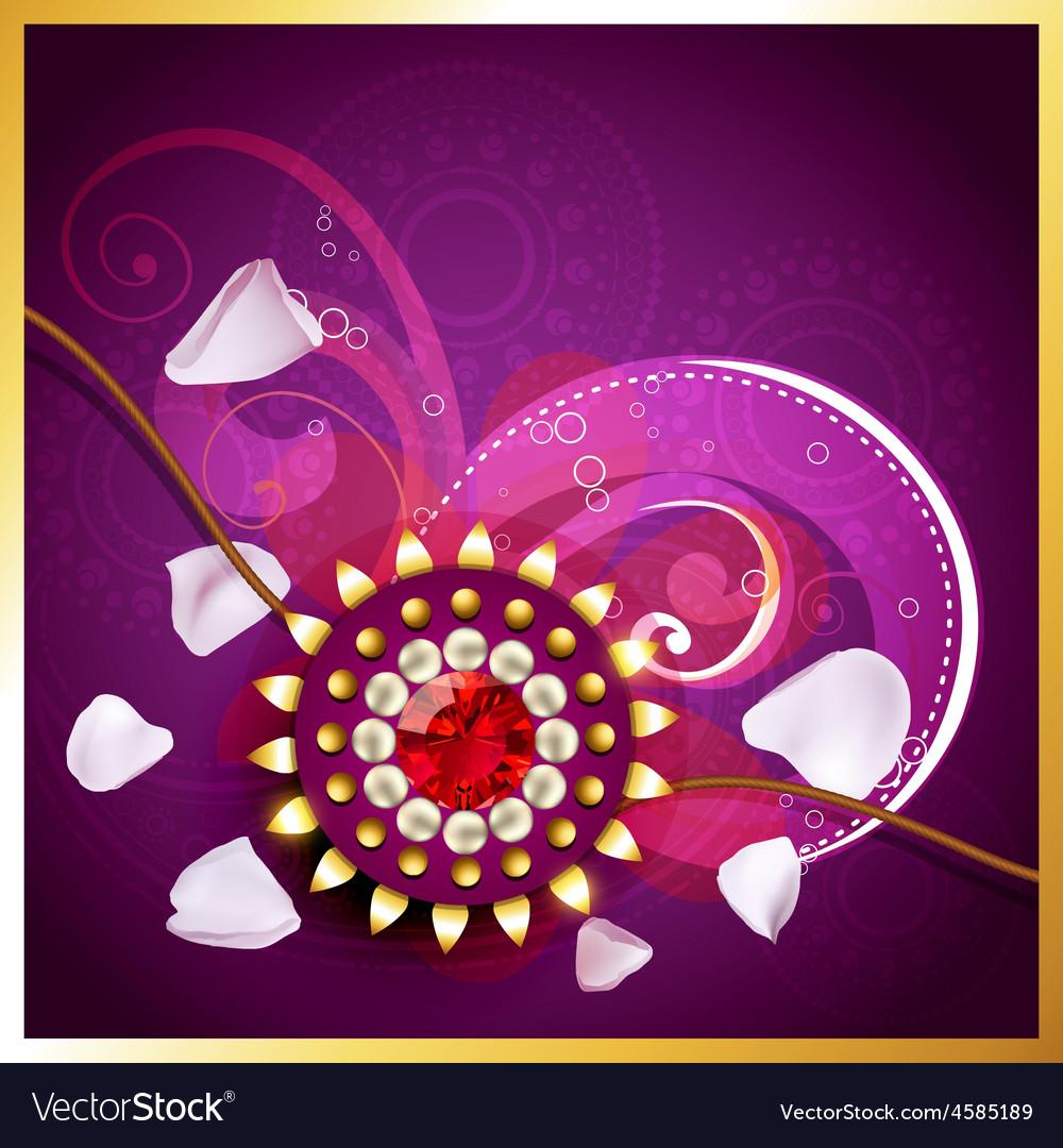 Creative indian rakhi