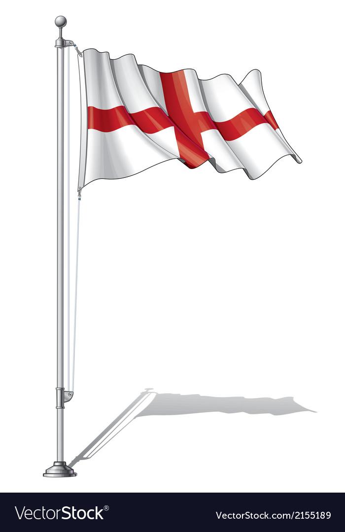 Flag pole england