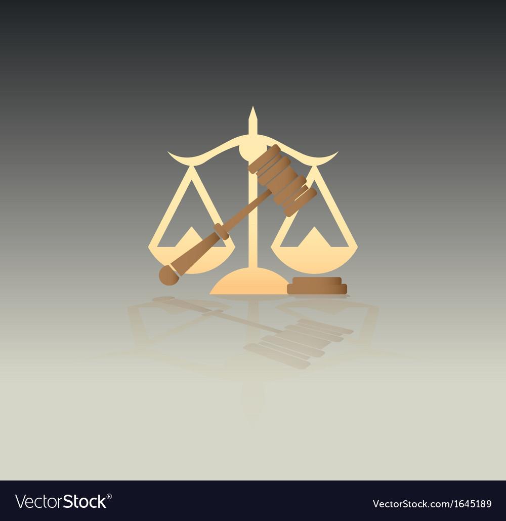 JusticeSymbols vector image