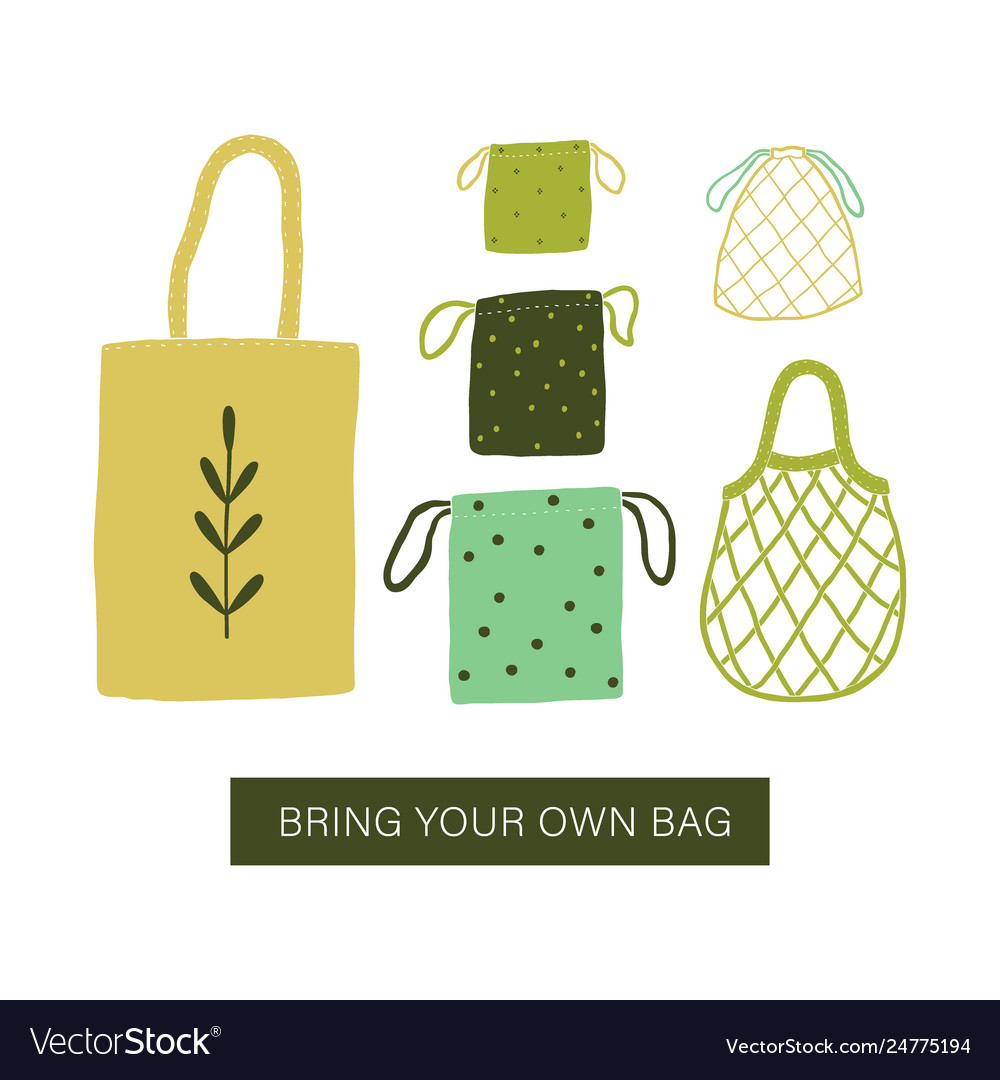 Bring your own bag zero waste bags
