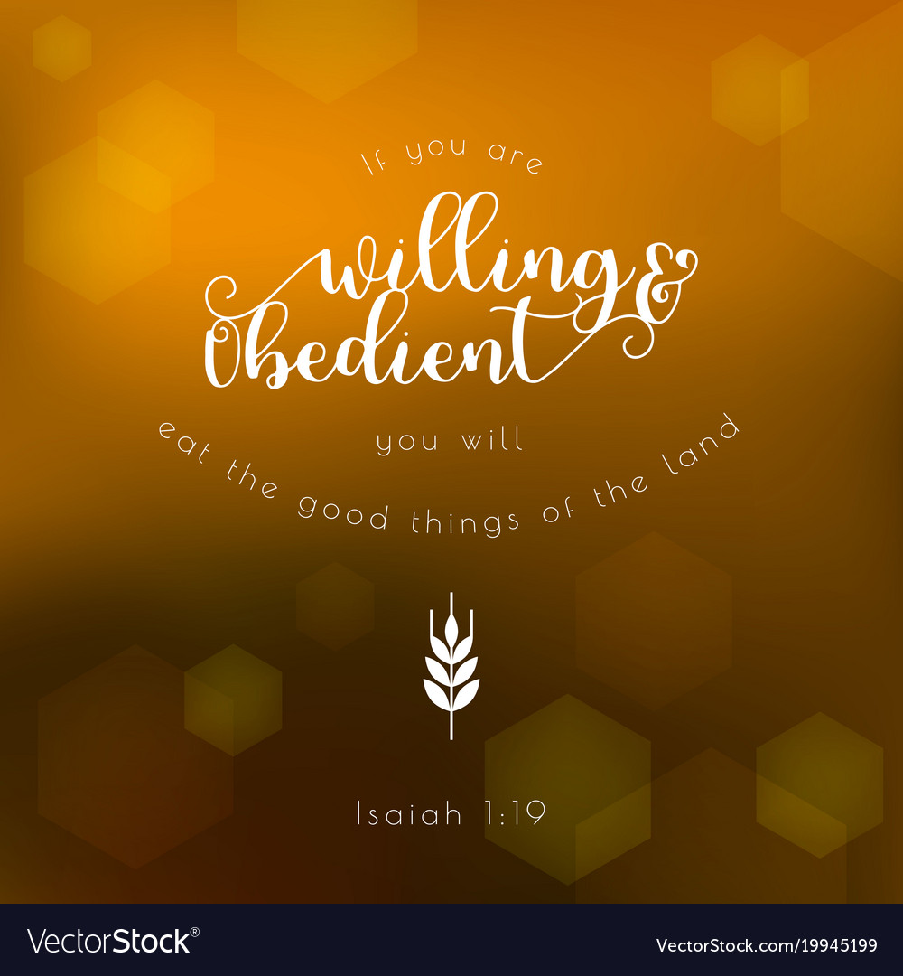 Bible quote typographic for thanksgiving day vector image