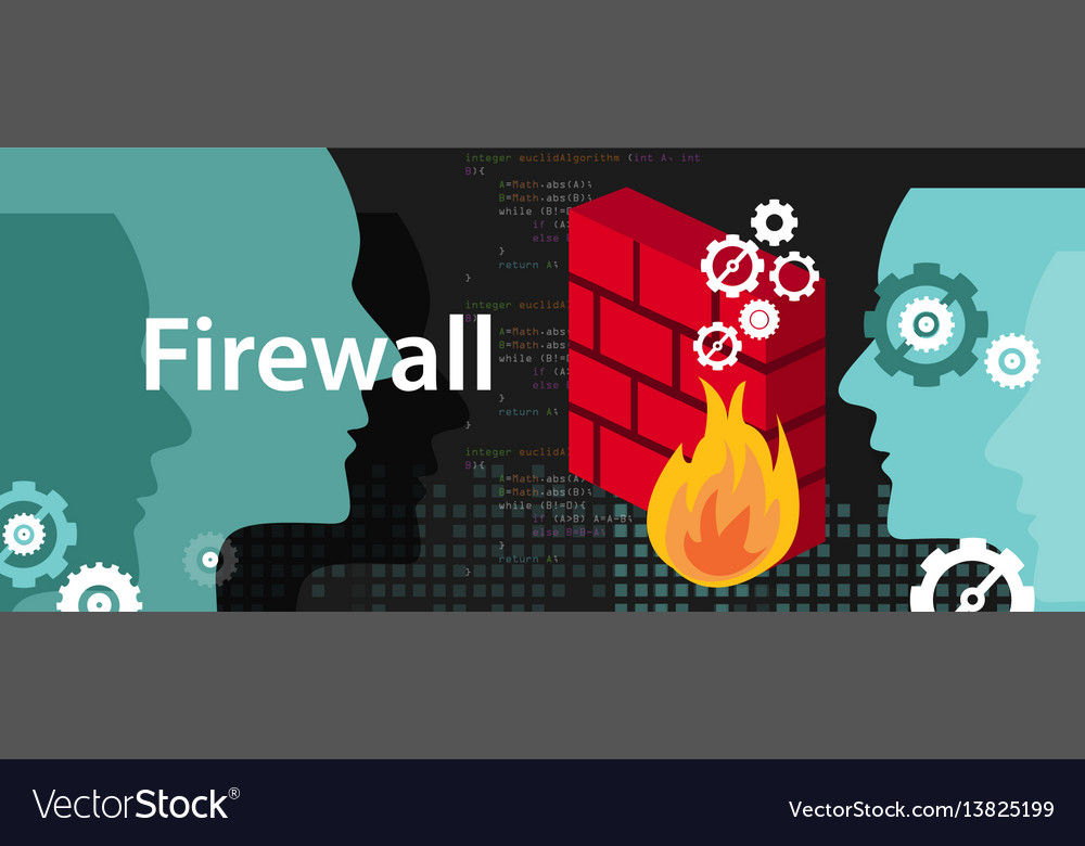 Firewall computer security protection from safety