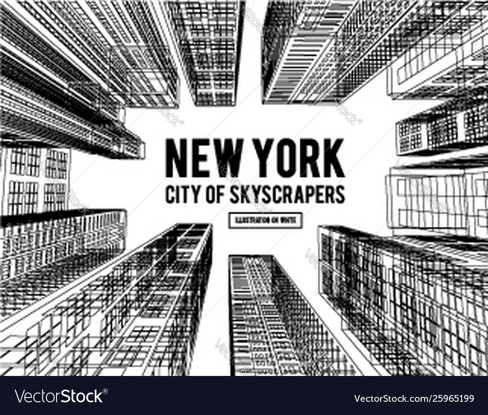 New york is a city skyscrapers
