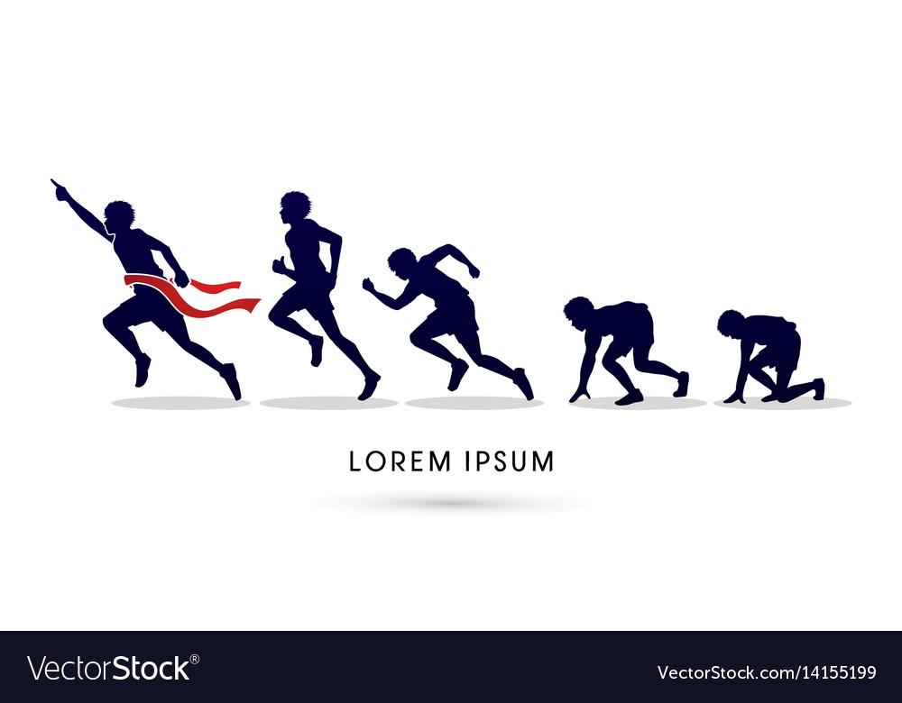 Running step