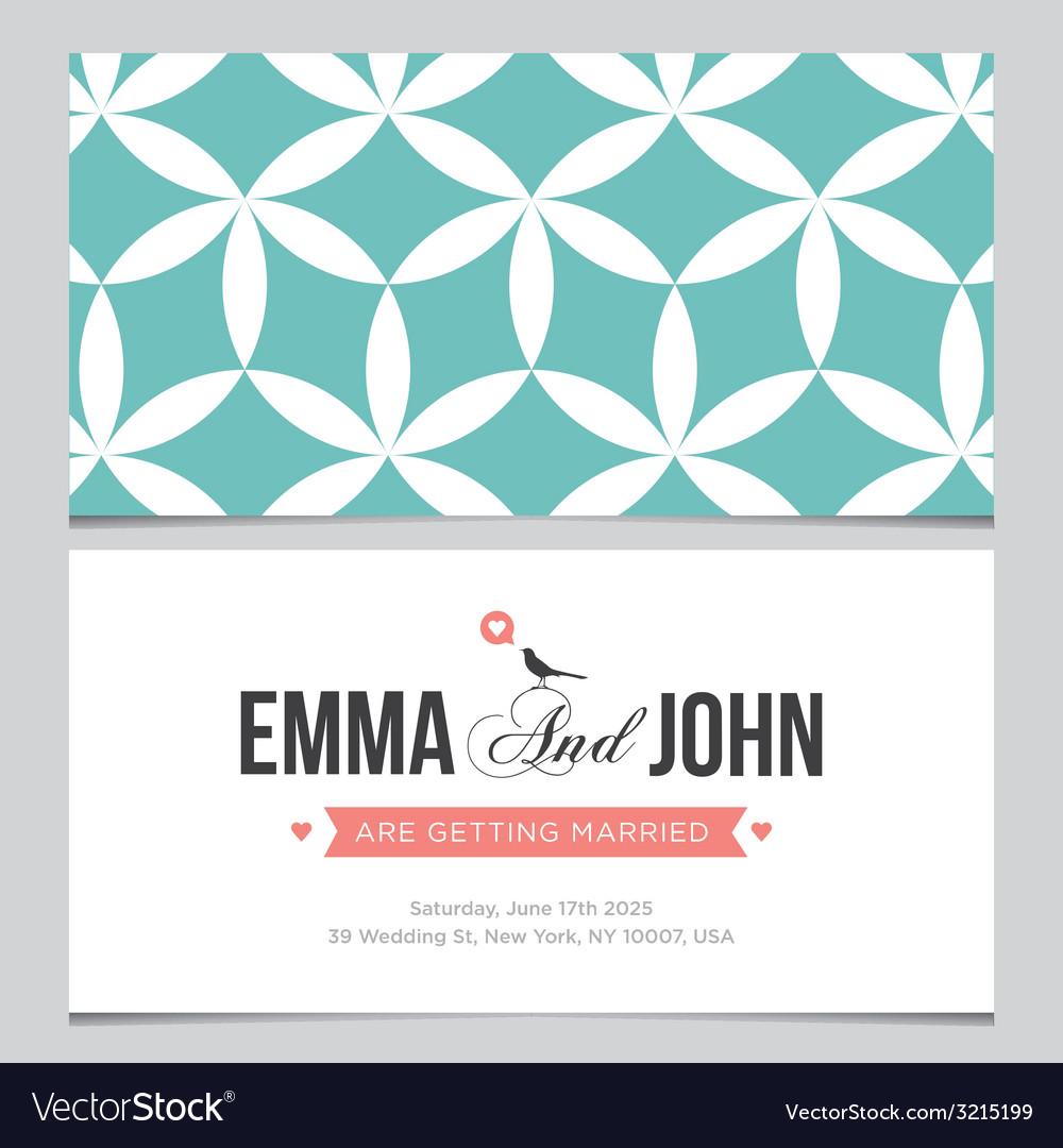 Wedding card pattern 03