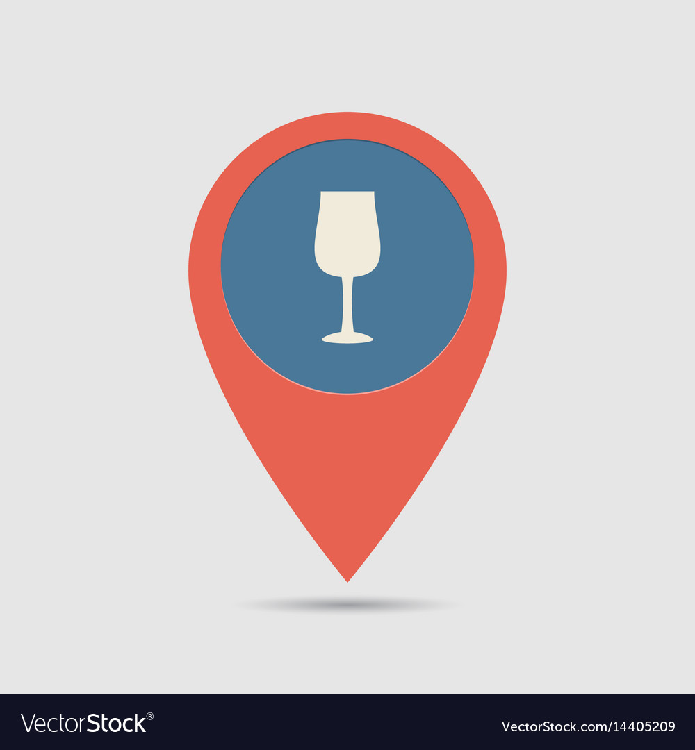 Map pin restoraunt