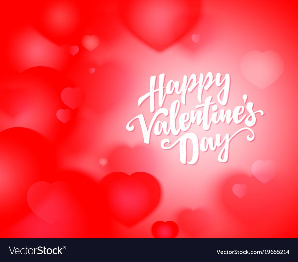Valentine Day Flyer Royalty Free Vector Image Vectorstock