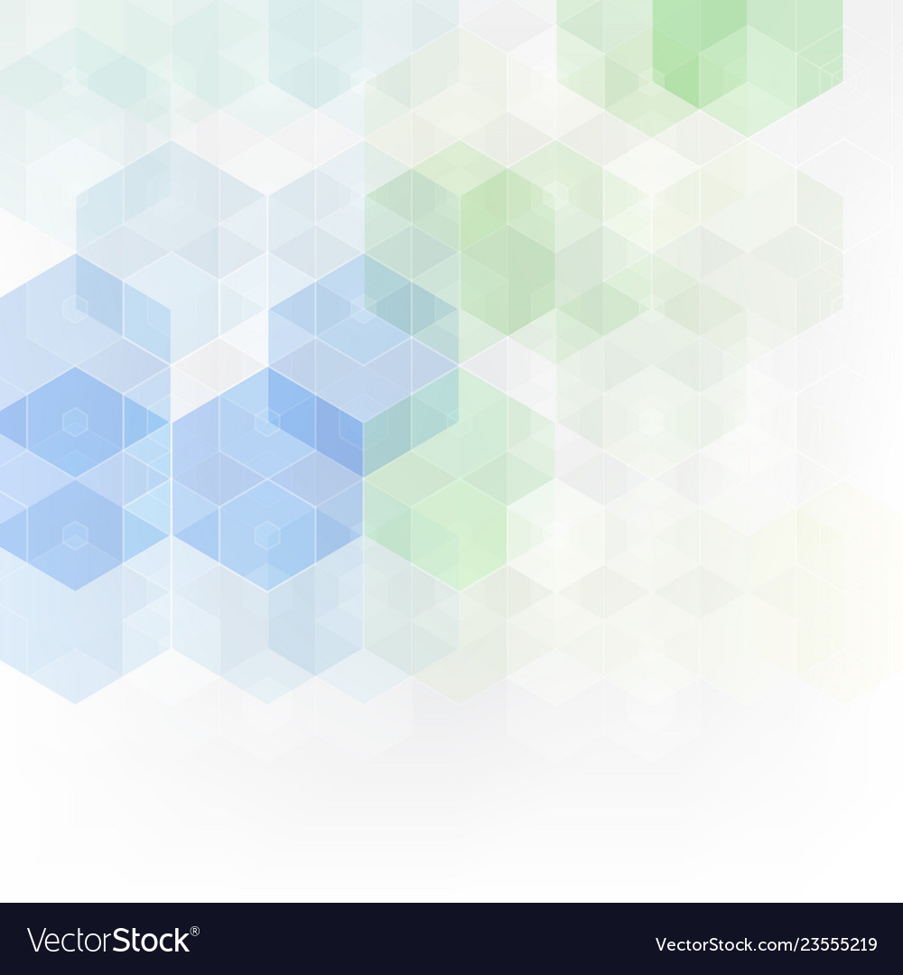 Abstract science background hexagon