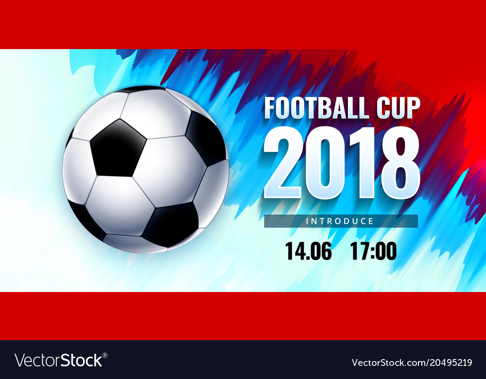Football World Cup Russia Wallpaper Color