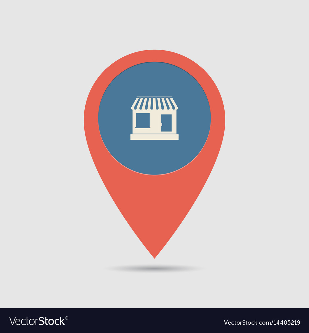 Map pin shop