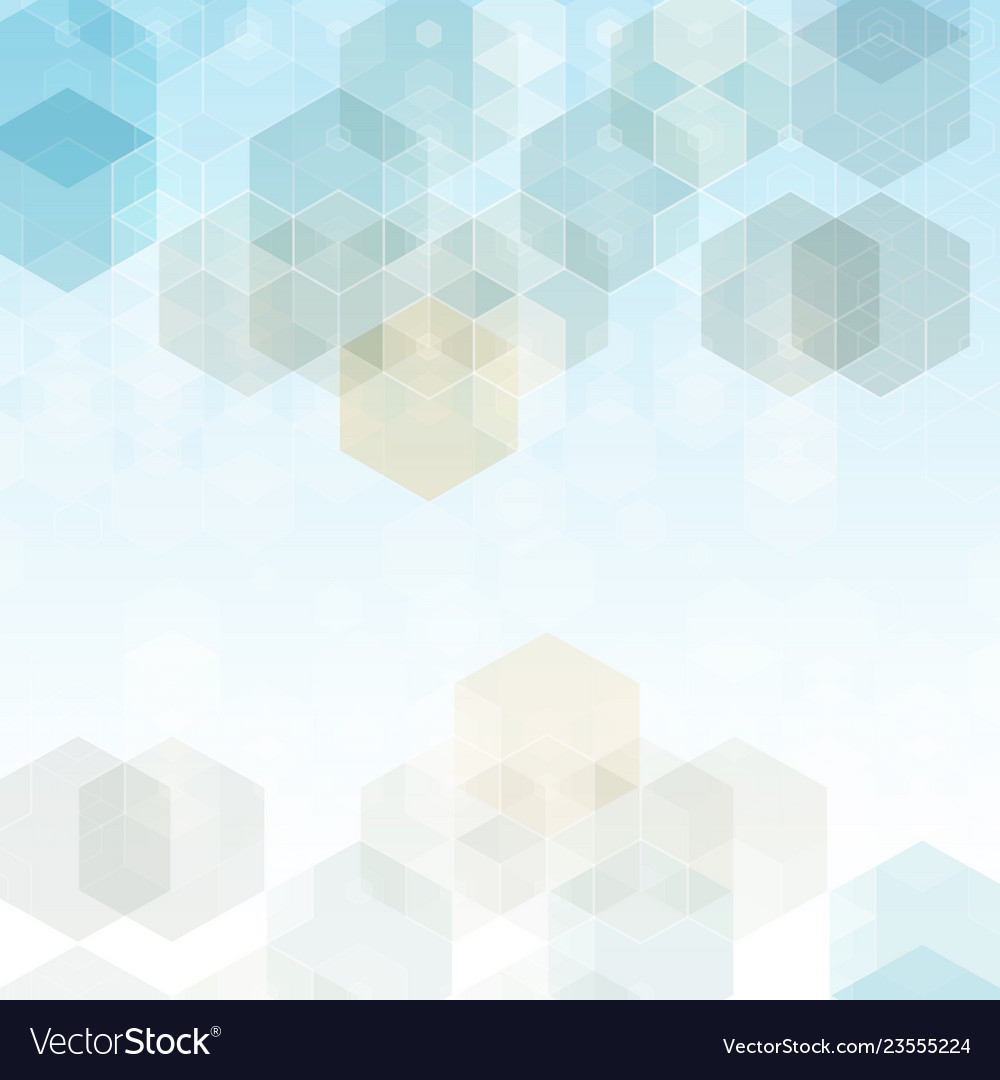Abstract science background hexagon geometric