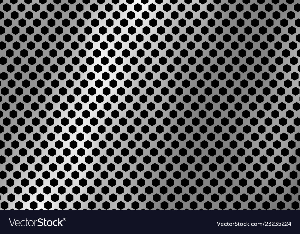 Abstract silver metal background made from