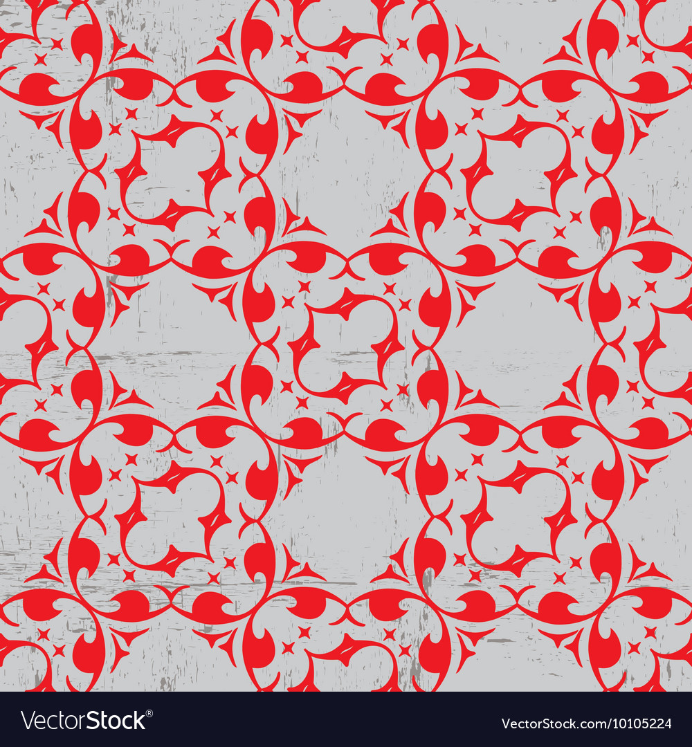 Geometric ornaments seamless patterns vector image