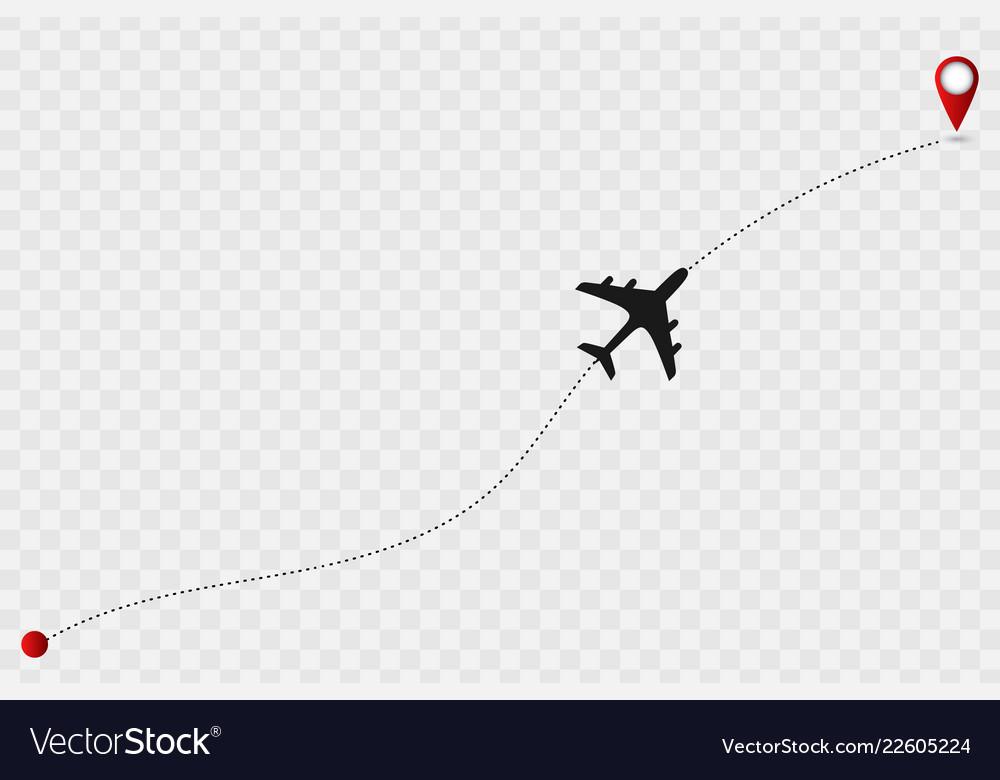 Plane track