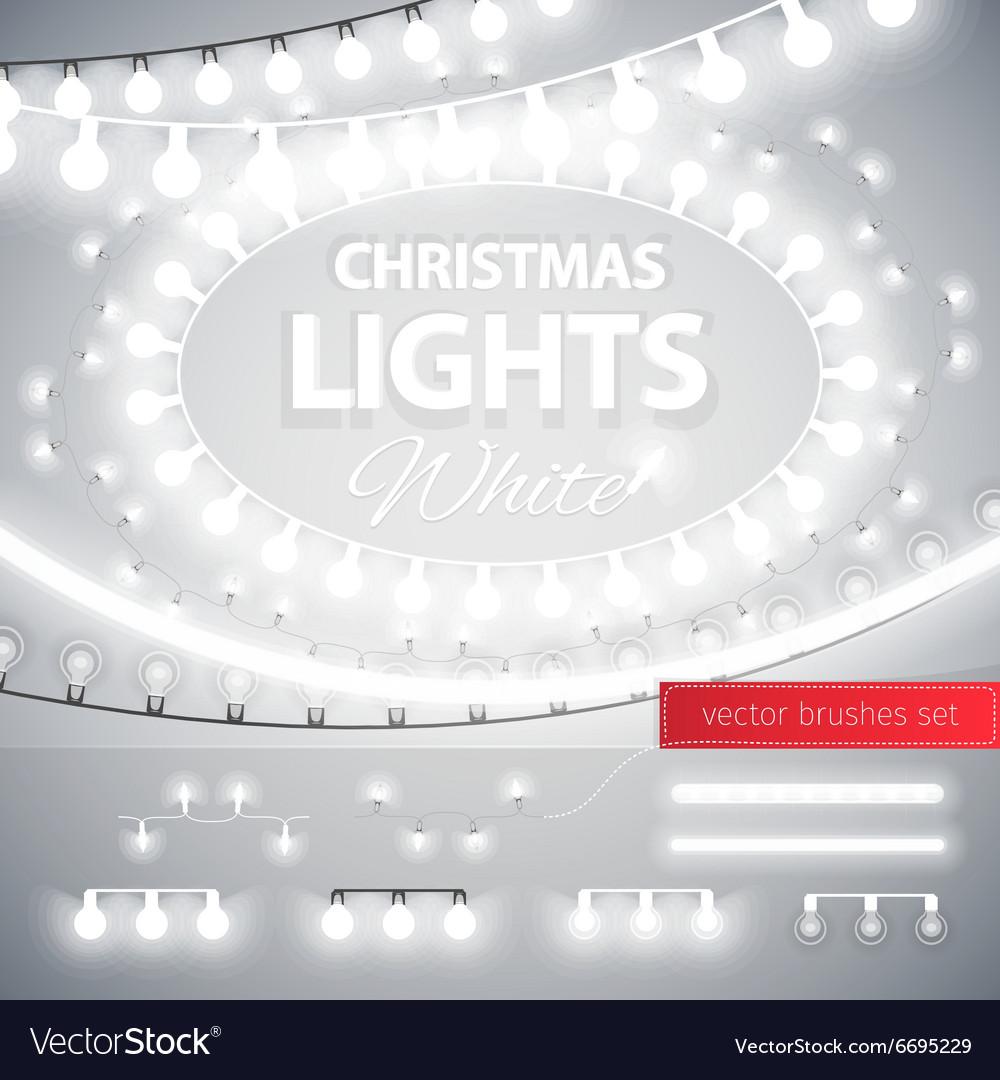 White Christmas Lights Decoration Set