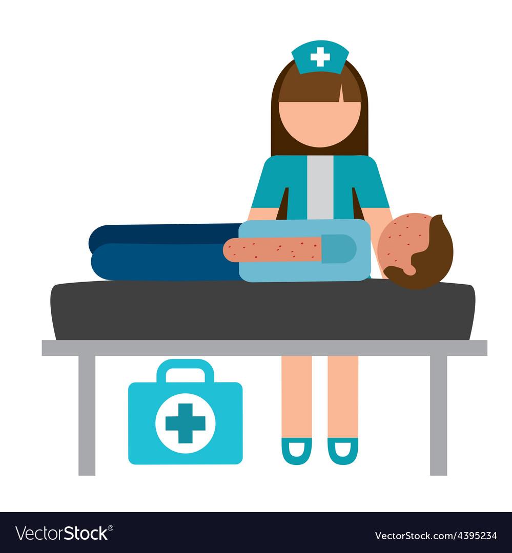 Nurse concept vector image