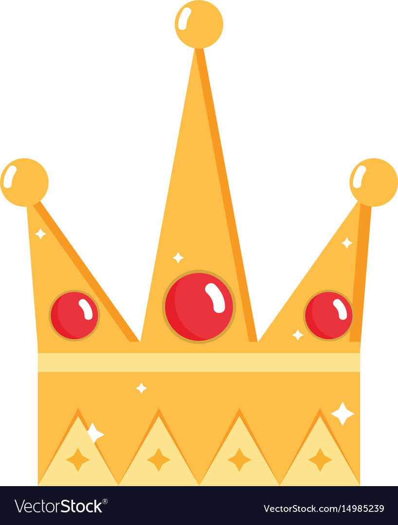 Nice crown of king to glory and pawer