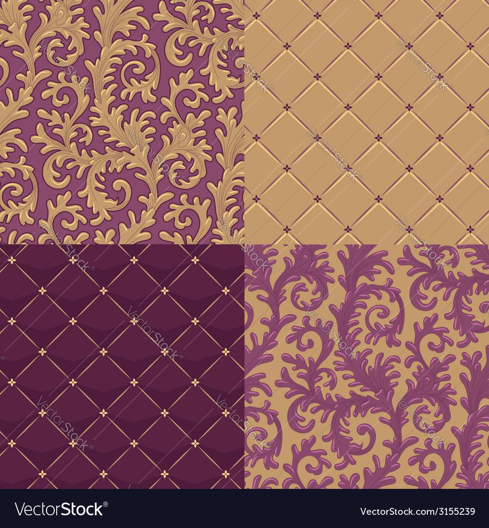 Pattern baroque set