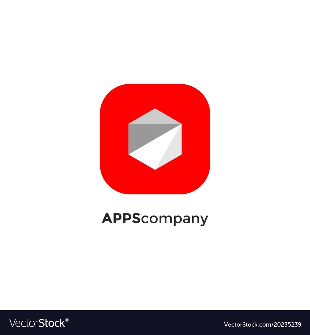 Polygon apps logotype